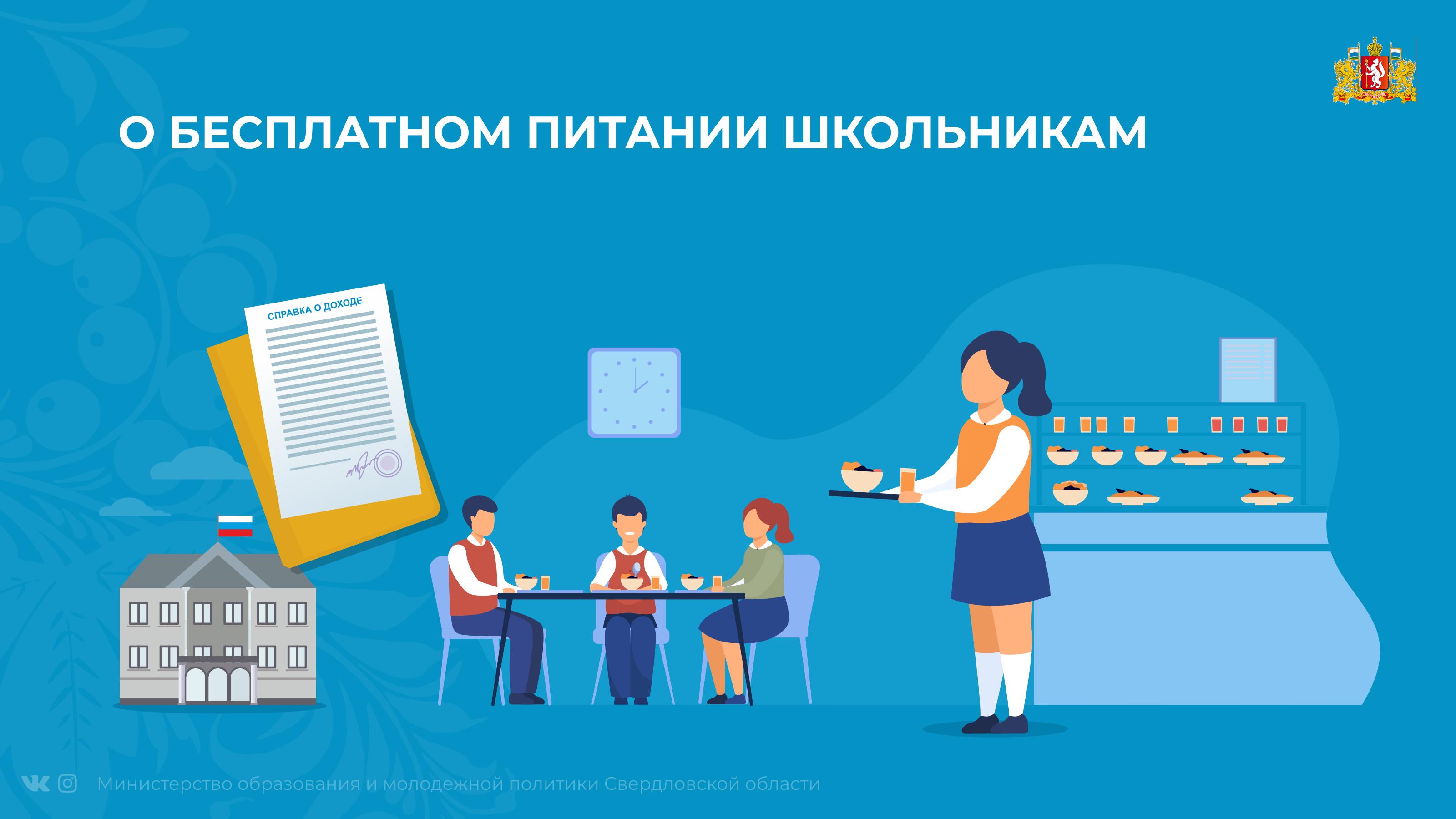 Бесплатное горячее питание школьников