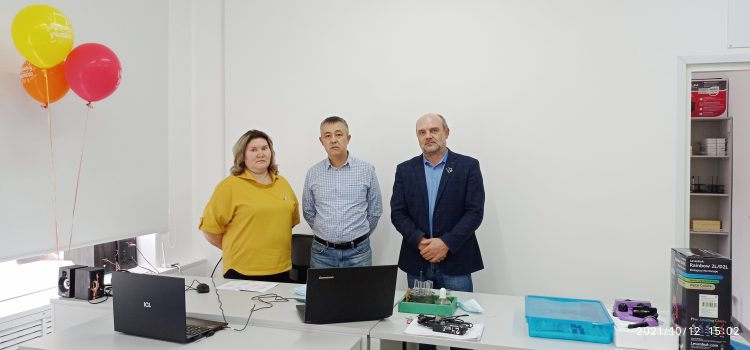 Областной вебинар на базе центра «Точка роста» МАОУ «Криулинская СОШ»